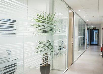 Sichtschutzfolie-Glas